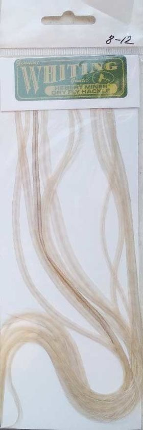 Седло петуха. 10 перьев white