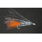 Стример Cristal Flach Fish silver1